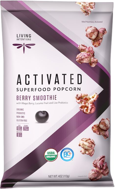 Smoothie-Inspired Popcorn Snacks