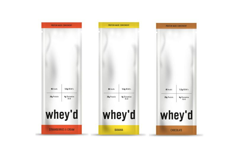 Individual Whey Protein Sachets