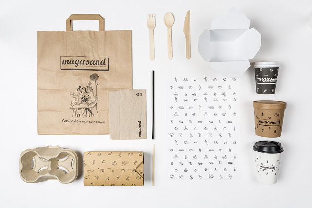 Chic Healthy Restaurant Branding