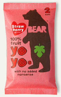 Bear Branded Healthy Snacks