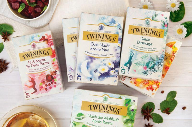 Bespoke Illustration Tea Packaging