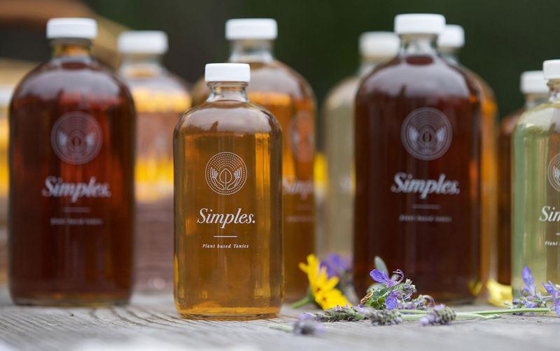 Plant-Based Healthy Tonics
