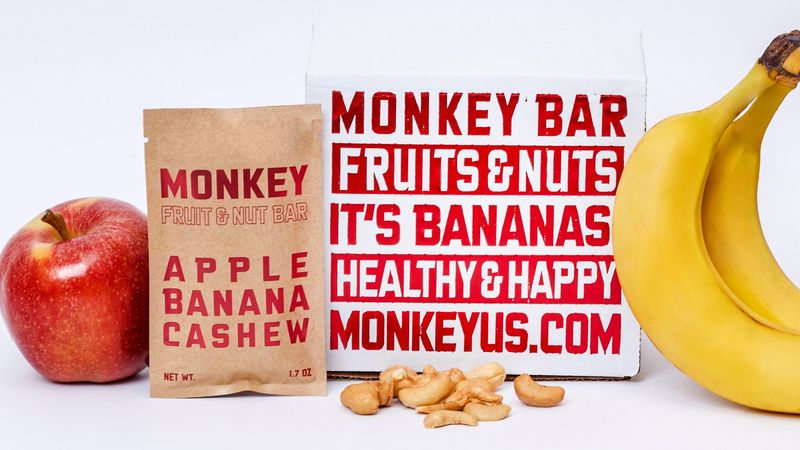 Banana-Dominant Healthy Vegan Snacks