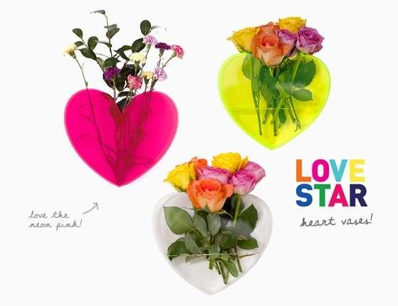 Love-Shaped Flower Pots