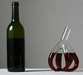 Heart-Shaped Wine Decanters