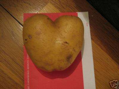 Bid on a Heart-Shaped Potato