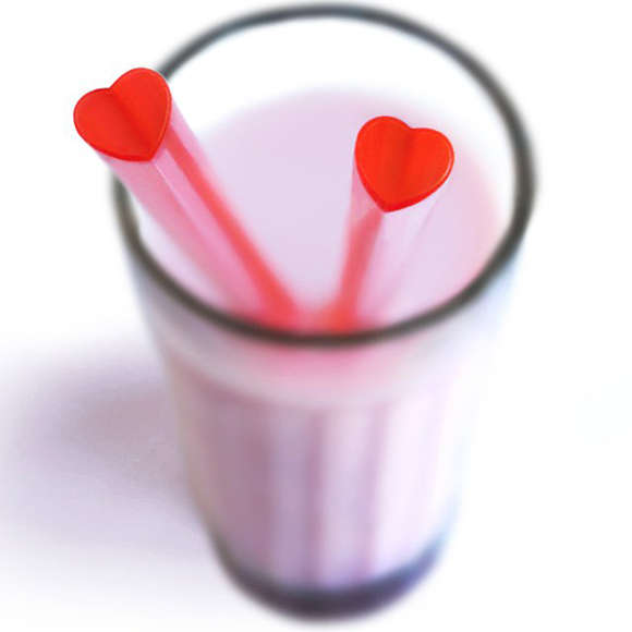 Love-Shaped Sippers