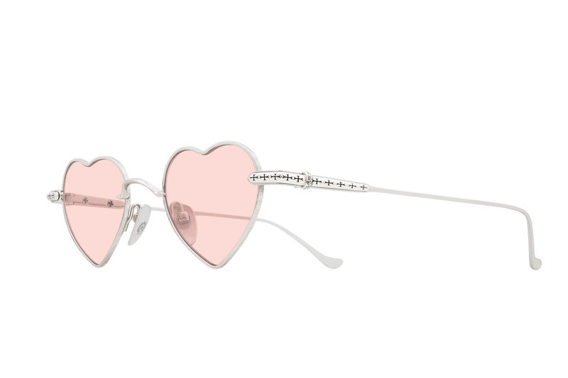 Romantically-Shaped Sunglasses