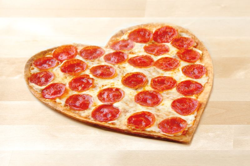 Seasonal Valentine's Day Pizzas