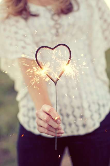 Romantic-Shaped Sparklers