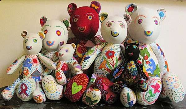 Colorfully Crafty Teddy Bears