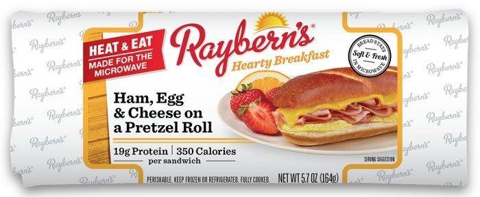 Microwaveable Breakfast Sandwiches