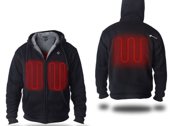 USB-Powered Hoodies