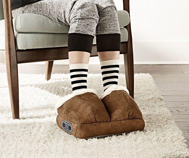 Heated Massage Slippers