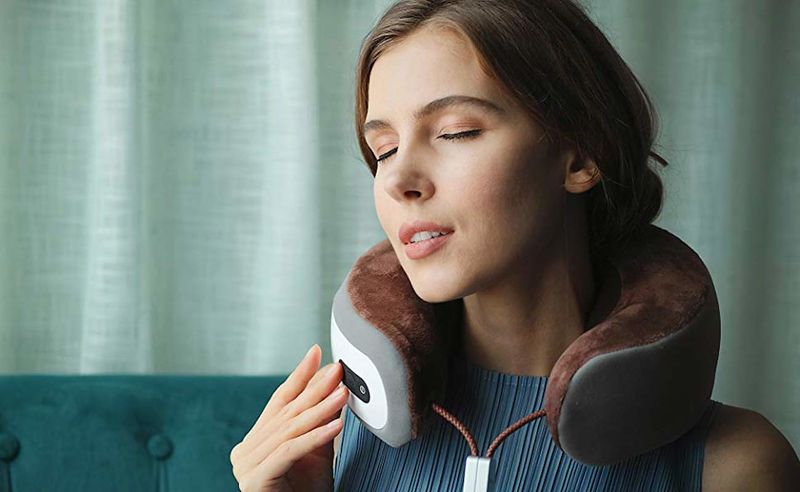 App-Connected Cervical Massagers