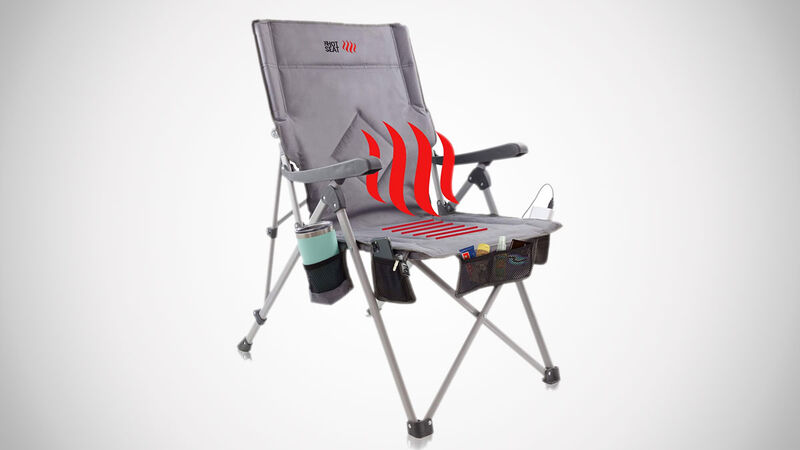 Soothing Heated Camper Chairs