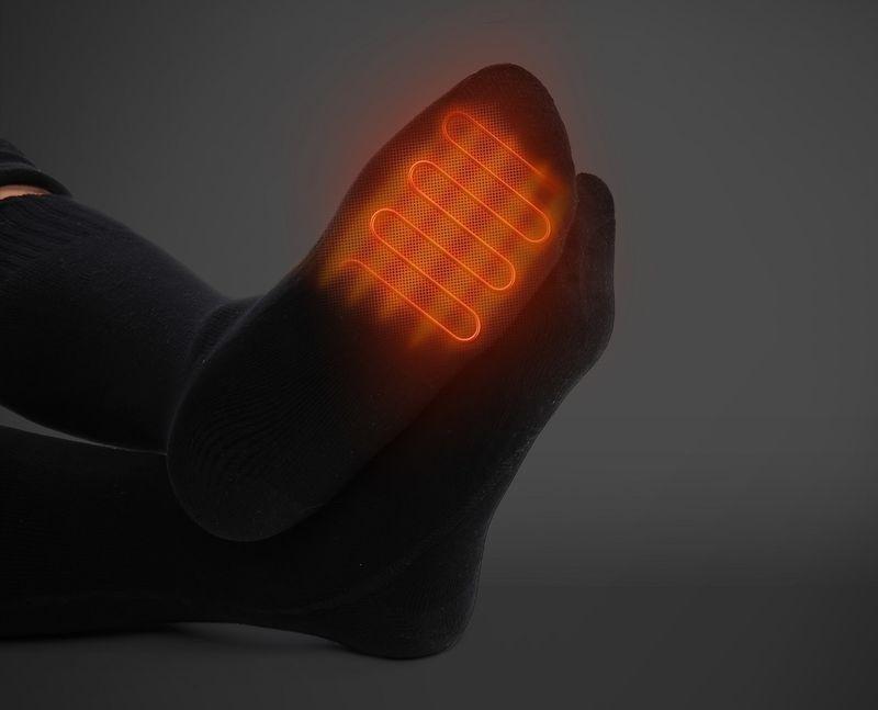 Moisture-Wicking Heated Socks