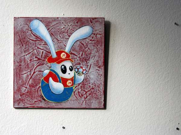 Phantom Plumber Bunny Paintings