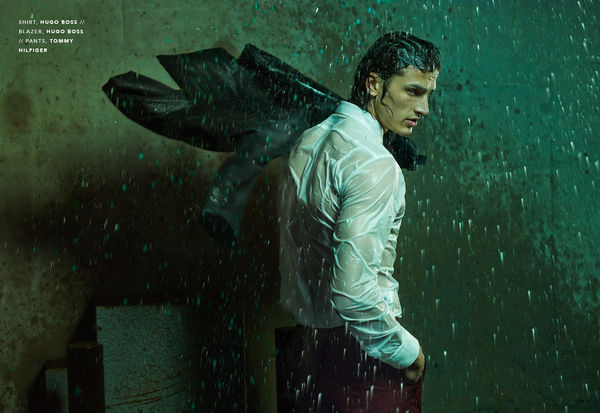 Drenched Storm Editorials