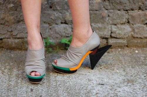 Sculpted Heels