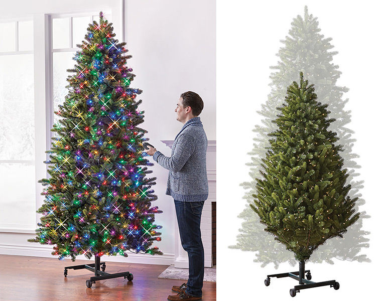 Expanding Holiday Trees