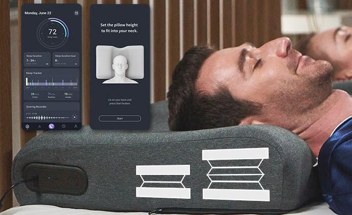 AI Powered Anti Snoring Pillows