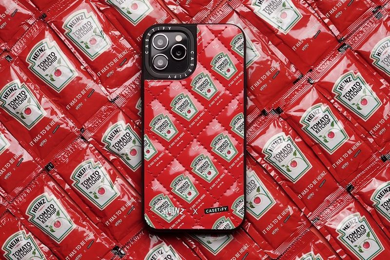 Condiment-Themed Phone Cases