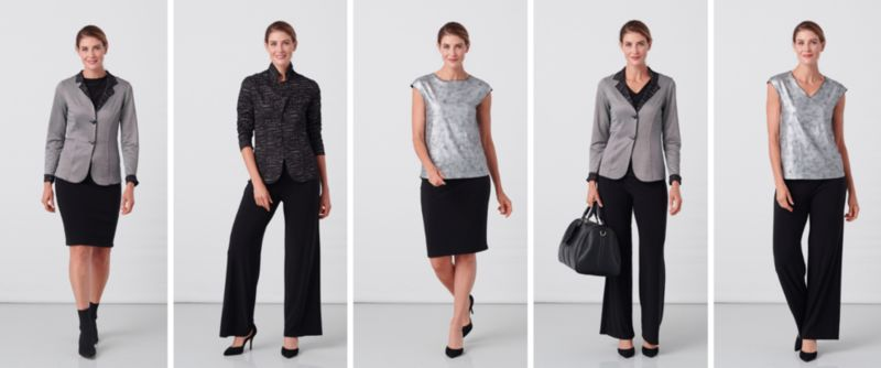 Travel-Friendly Interchangeable Apparel