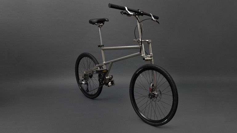 Helical Folding Bicycles