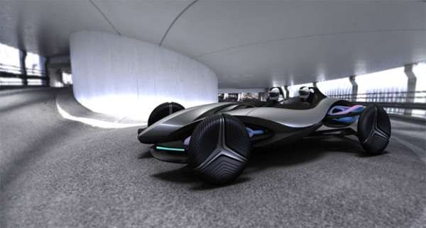 Futuristic Wind-Powered Roadsters