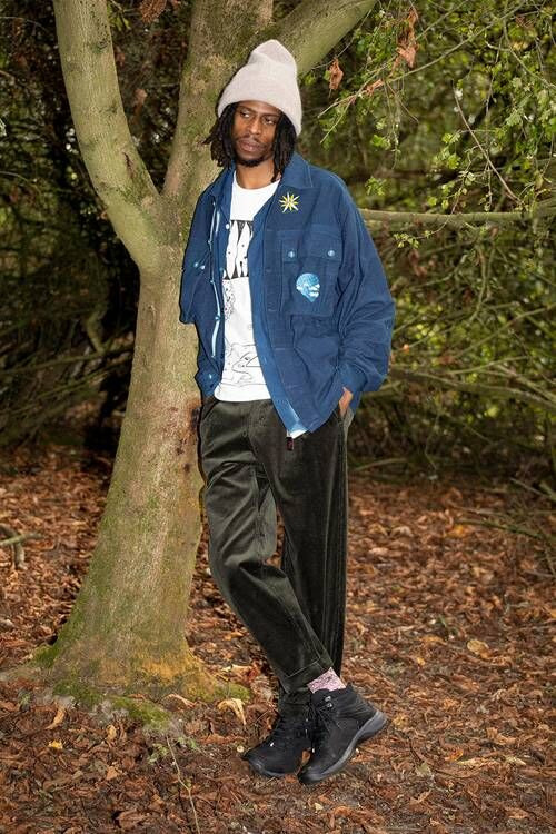 Motif-Emblazoned Lightweight Jackets