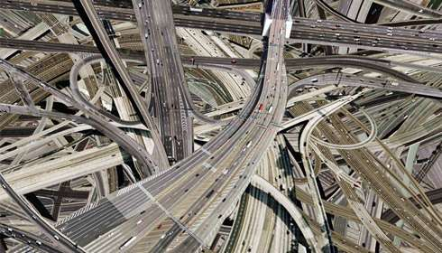 Labyrinthine Highway Art