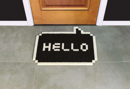 Speech Bubble Greeting Doormats