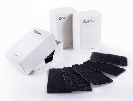 Textured Flash Cards