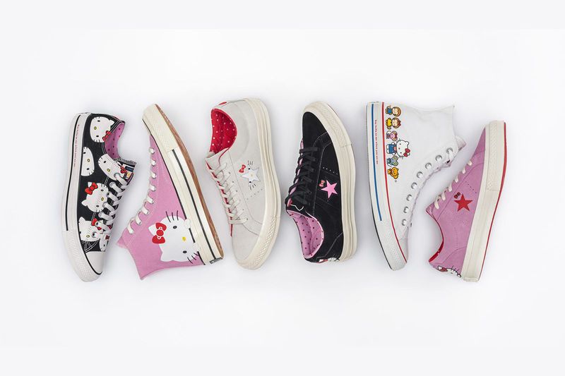Canvas Cartoon Cat Sneakers