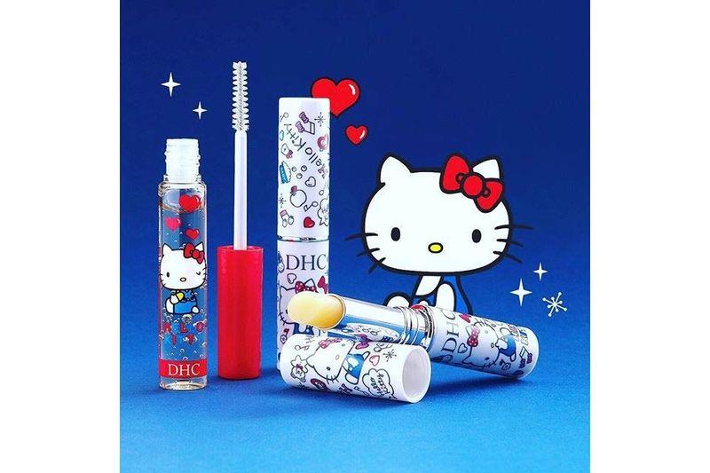 Cartoon Cat Cosmetic Lines