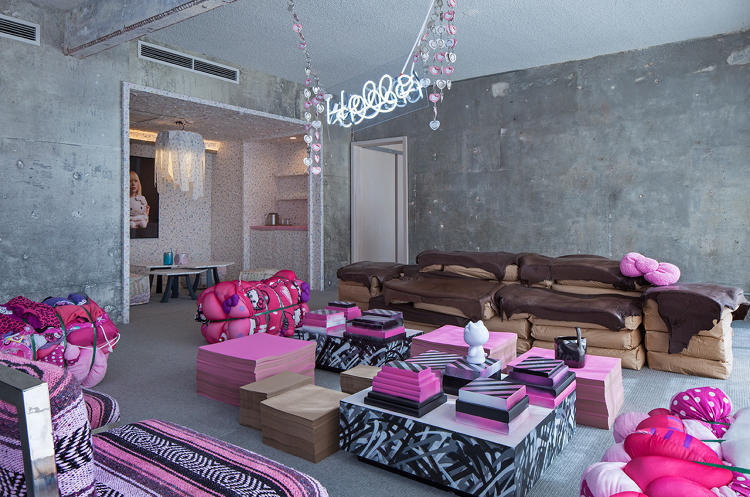 Hello Kitty Hotel Rooms