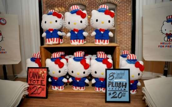 Hello Kitty Political Campaigns