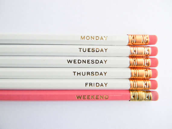 Calendrical Countdown Stationery