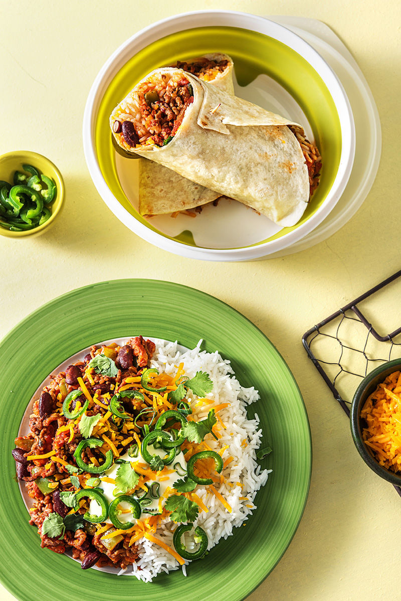 Meal Prep-Focused Delivery Kits : Hellofresh Lunchtodinner