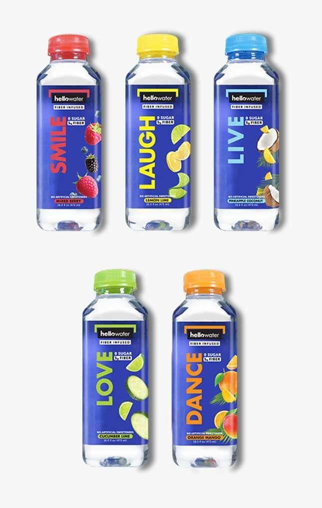 Fiber-Rich Water Beverages