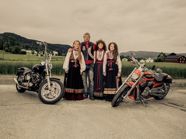 Biker Gang Photography