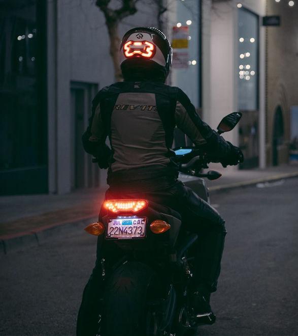 Smart LED Helmet Lights