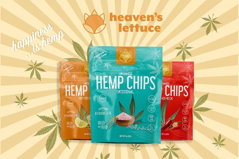 Protein-Rich Hemp Chips