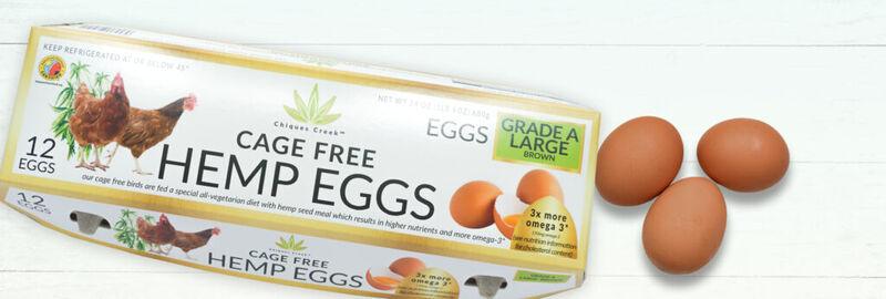 Omega-Rich Hemp Eggs