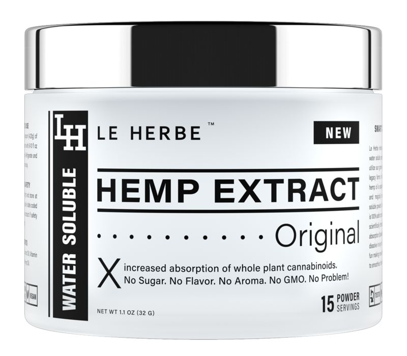 Hemp Extract Beverage Mixes
