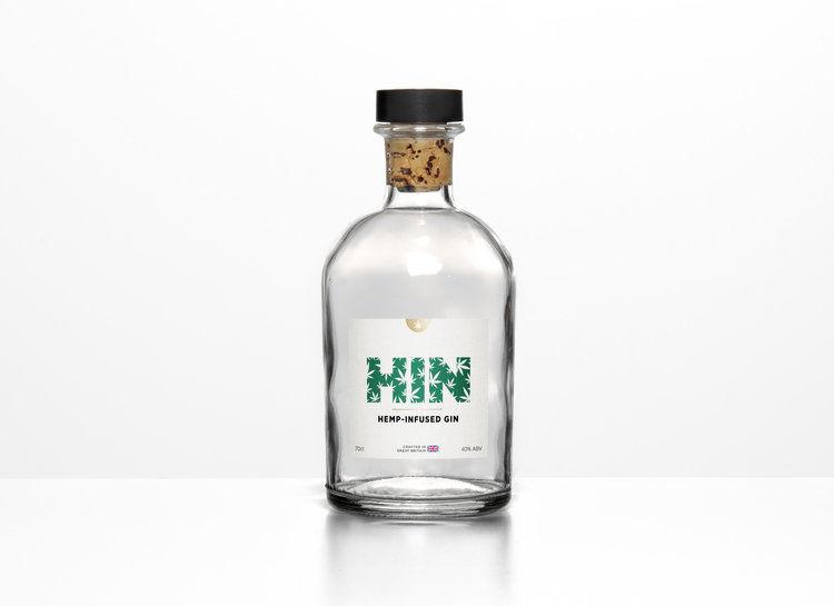 Hemp-Infused Gin Spirits
