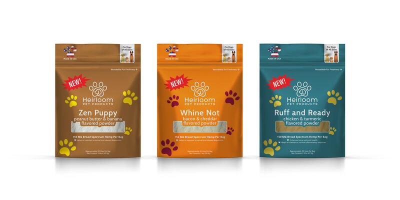 Hemp-Based Pet Food Toppers