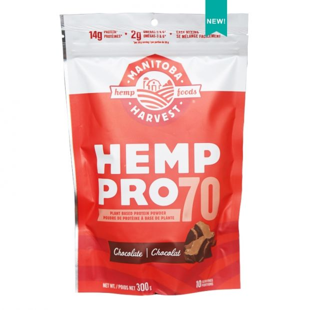 Hemp-Infused Protein Powder