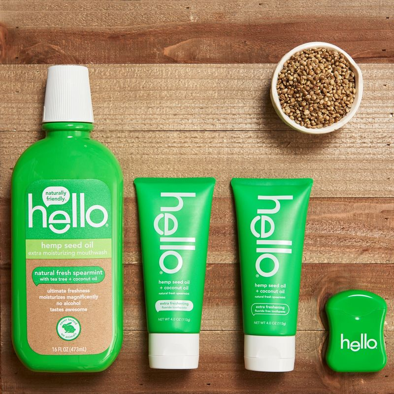 Hemp-Infused Oral Care Collections